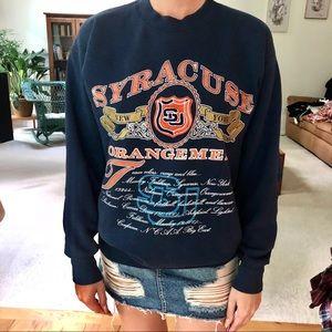 Tops - Vintage Syracuse University Crewneck